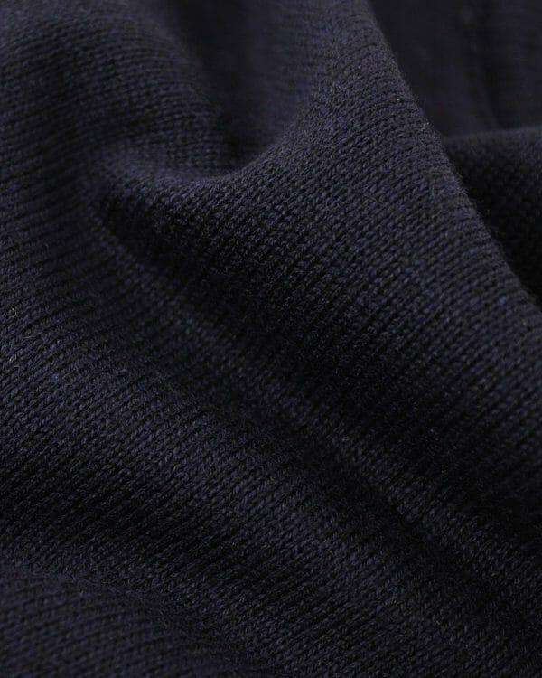 essential plain navy sweater