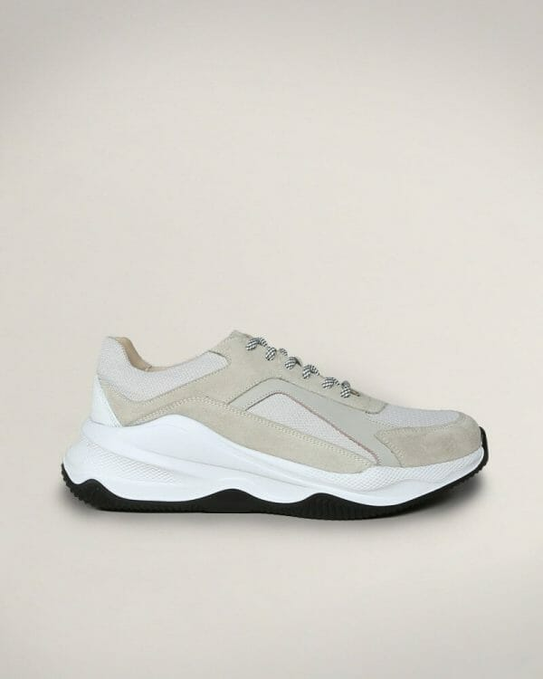 Beige Chunky Trainers for men , Sneakers For Men