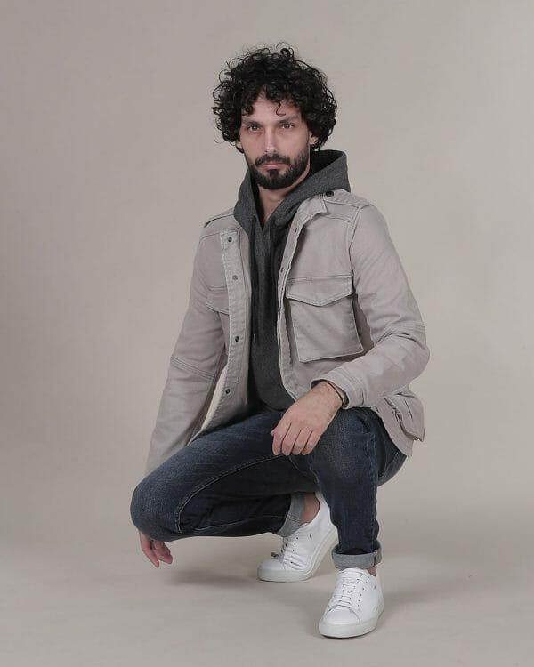 Beige Jacket for men, jackets for men