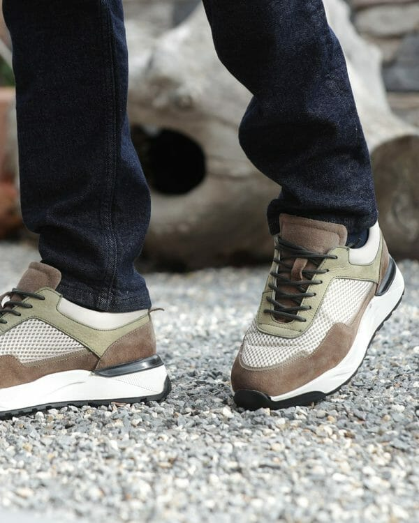 Men's Shoes, Brown Trainers For men
