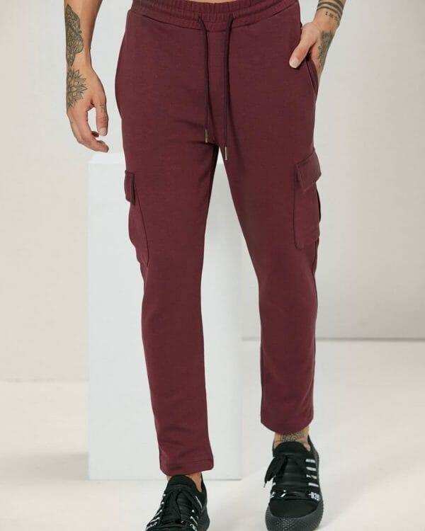 burgundy comfort basic jogger For men , Street Wear for Men, Sports Wear For men