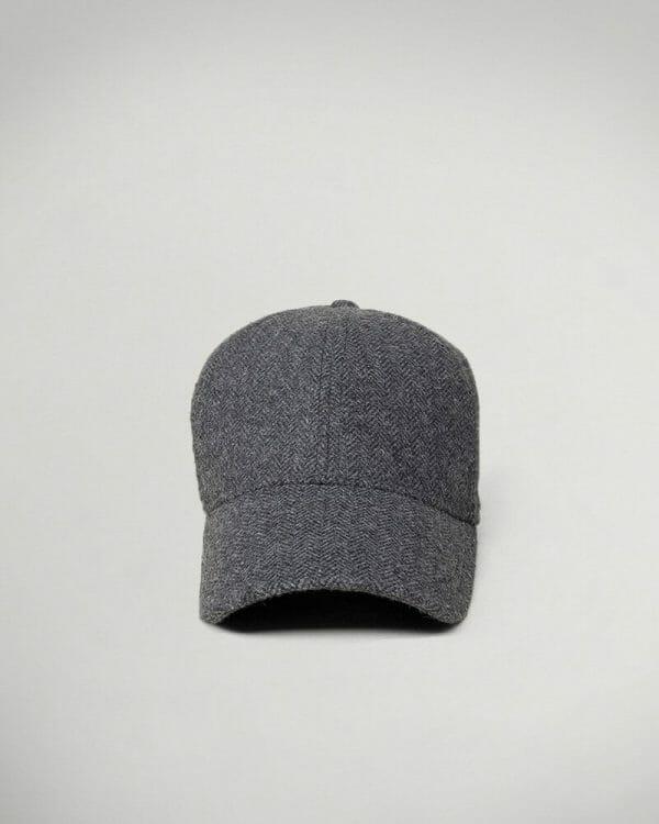 light dark grey cap for men , light dark grey hat for men