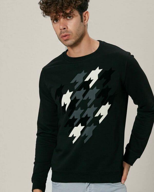 Black sweater , Casual Wear For men , Men's Fashion