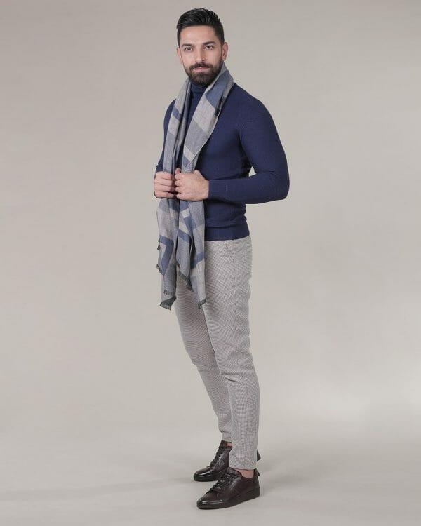 indigo turtule neck for men , casual Wear for men , Fashion for men
