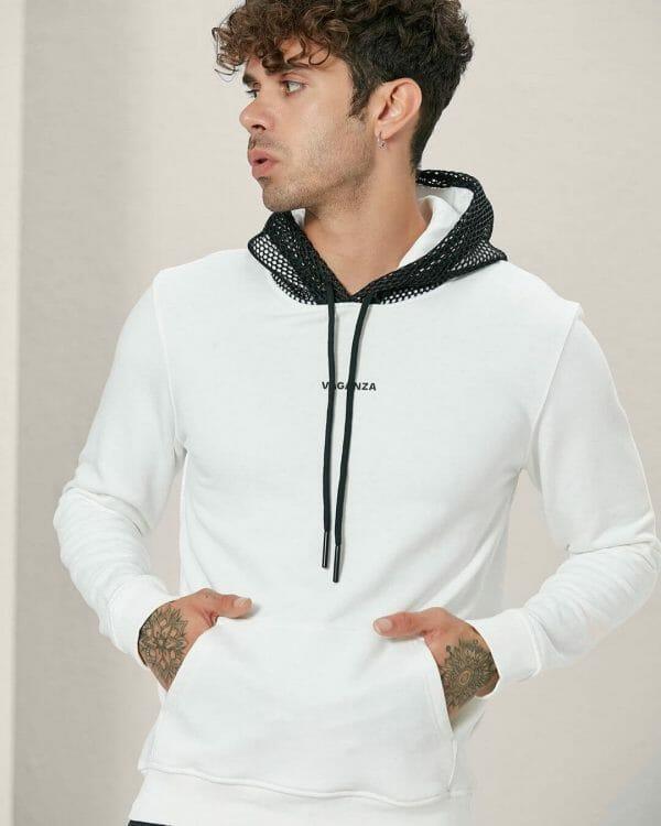 White Hoodies For Men, Sports Wear For Men,