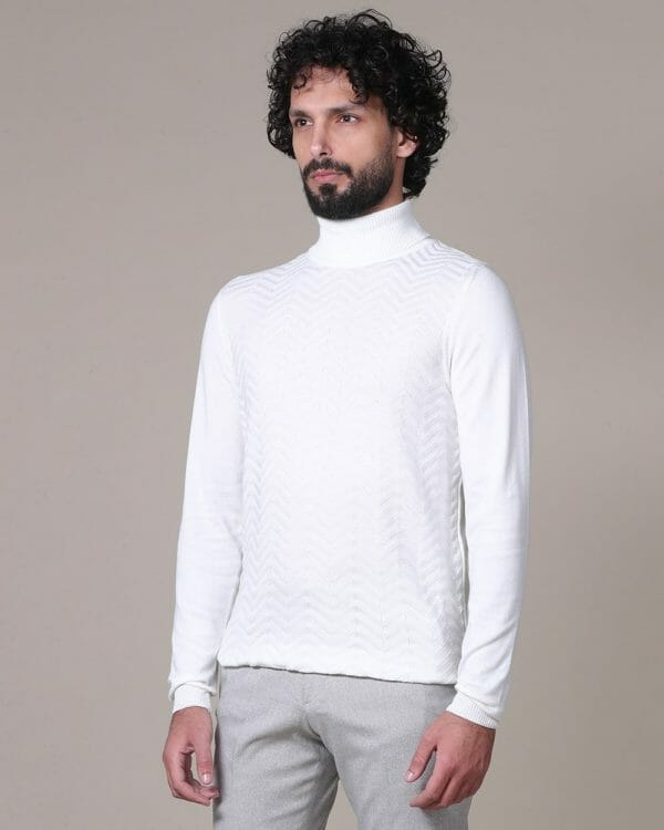 white turtle for men, Sweaters for men